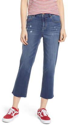1822 Denim Straight Leg Crop Jeans