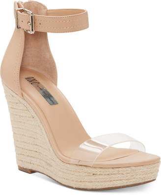 INC International Concepts I.n.c. Vidita Platform Wedge Sandals