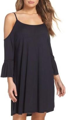 Women's Leith Cold Shoulder Cover-Up Dress $55 thestylecure.com