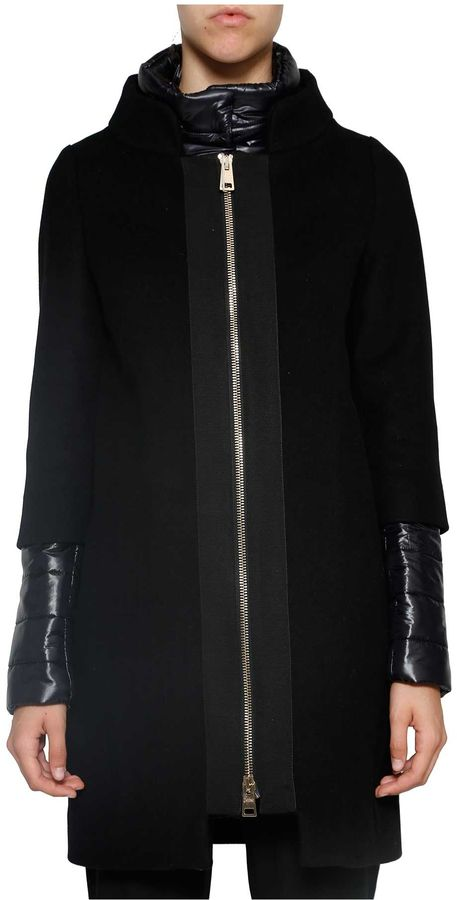 HernoHerno Padded Sleeves Coat