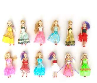 Heart to Heart Fashion Doll 12-Piece Play Set