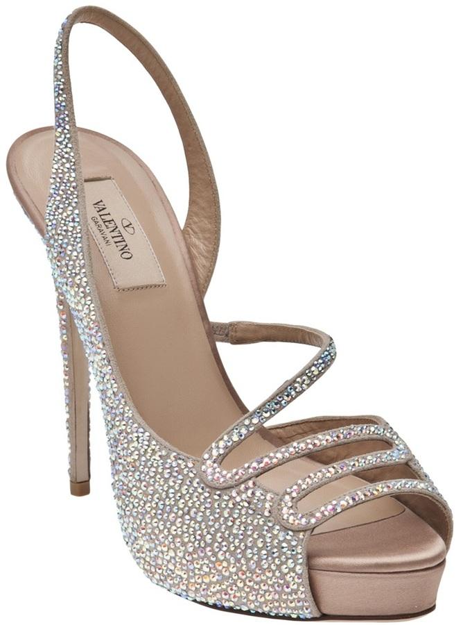 Valentino Garavani sparkly sandal