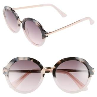 Chelsea28 54mm Round Sunglasses
