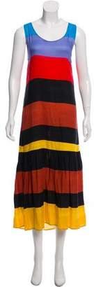 Mara Hoffman Sleeveless Colorblock Dress