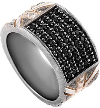 Stephen Webster Men's Silver Sapphire Ring