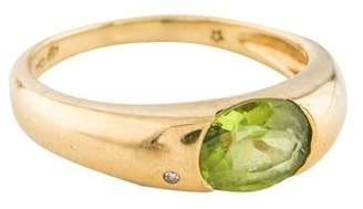 H.Stern 18K Peridot & Diamond Ring