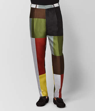 Bottega Veneta MULTICOLOR WOOL PANT