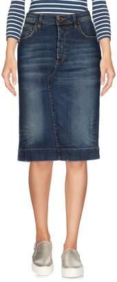 Twin-Set Denim skirts