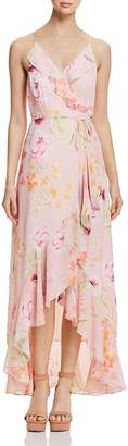 Yumi Kim Meadow Floral Maxi Wrap Dress