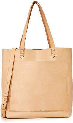 Madewell Medium Transport Tote $158 thestylecure.com