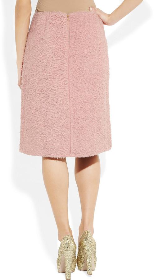 Rochas Alpaca-blend skirt