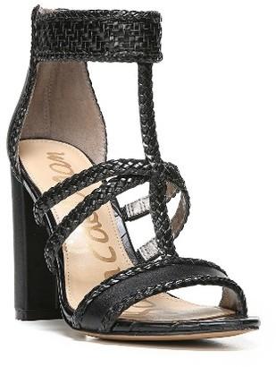 Women's Sam Edelman Yordana Woven T-Strap Sandal $149.95 thestylecure.com
