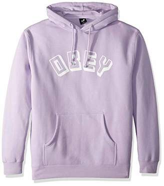 Obey Men's World Hooded Pullover Sweatshirt