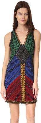 alice + olivia Nadia V Neck Dress $795 thestylecure.com