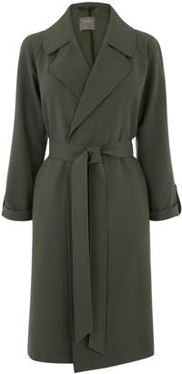 Next Womens Oasis Green Duster Coat
