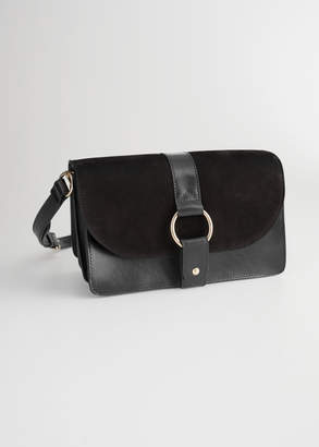 And other stories Leather Crossover Bag