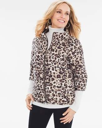 Chico's Reversible Puffer Jacket