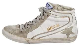 Golden Goose Slide Distressed Sneakers