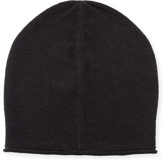 Vince Cashmere-Blend Solid Beanie Hat
