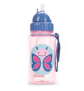 Skip Hop Blossom Butterfly Zoo Straw Bottle