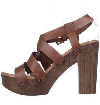 Callisto Womens Westlye Open Toe Casual Platform Sandals