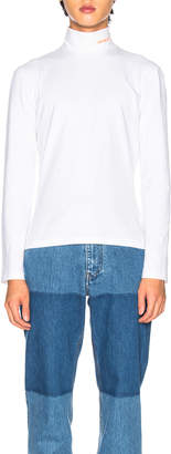 Calvin Klein Stretch Jersey in Optic White   FWRD