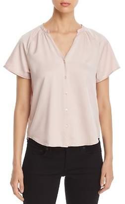 Finn & Grace Short-Sleeve V-Neck Shirt - 100% Exclusive