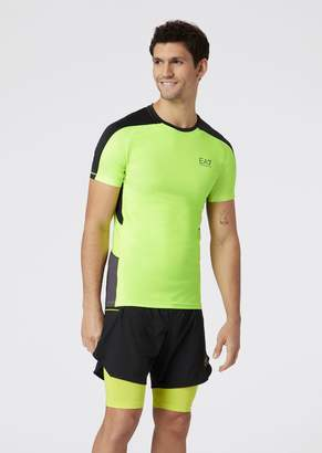 Emporio Armani Ea7 T-Shirt In Vigor7 Tech Fabric