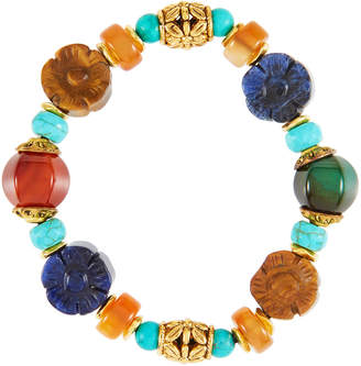Jose & Maria Barrera Semiprecious Beaded Stretch Bracelet