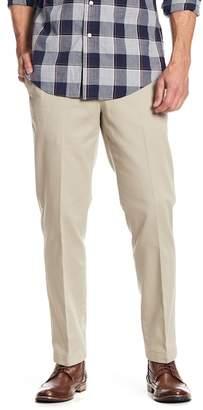 "Brooks Brothers Clark Flat Front Khaki Chino Pants - 30-34\"" Inseam"