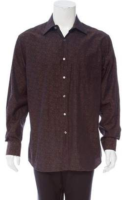 Paul Smith Jacquard Button-Up Shirt