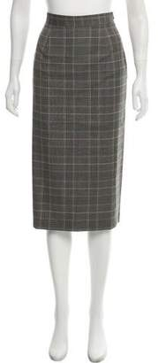 Goop G. Label Michelle Plaid Skirt