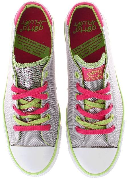 Gotta Flurt Twist Me Diana (Gray) - Footwear
