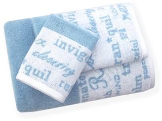American Dawn Resort Spa 3 Piece Towel Set in Agean Blue