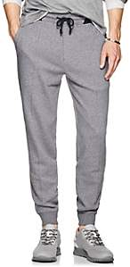 Brunello Cucinelli Men's Stretch-Cotton Sweatpants - Gray