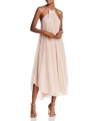 Ramy Brook Catalina Pleated Midi Dress