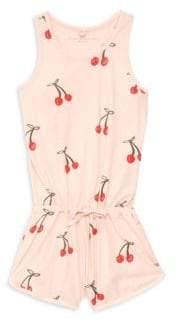 Stella McCartney Little Girl's& Girl's Cherry All-In-One Romper
