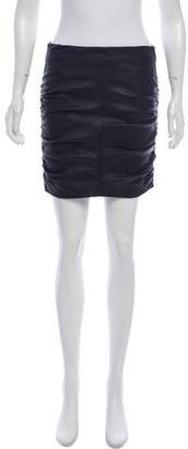 The Row Ruched Mini Skirt