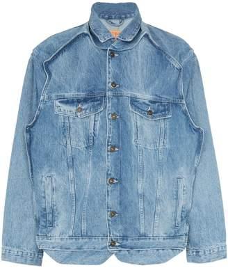 Y/Project Y / Project reconstructed denim jacket