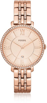 Fossil Jacqueline Rose Tone Stainless Steel Women's Watch