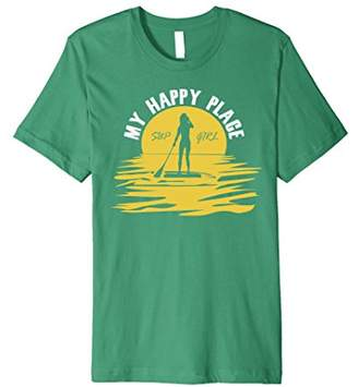 Funny Standup Paddle Boarding Sup Girl T-Shirt