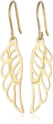 DAY Birger et Mikkelsen Amazon Collection Plated Sterling Silver Angel Wing Drop Earrings