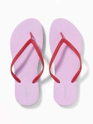 Old Navy Pop-Color Flip-Flops for Women