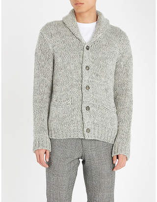 Ralph Lauren Purple Label Shawl-collar cashmere cardigan
