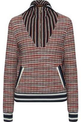 Missoni Checked Wool-Blend Sweater