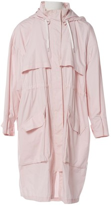 Barbara Bui Pink Cotton Coat for Women