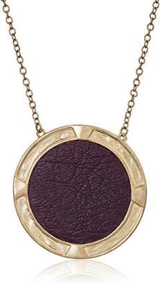The Sak Large Inlay Pendant Necklace