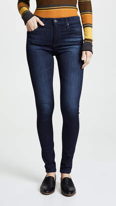 AG Jeans The Farrah High Rise Skinny Jeans