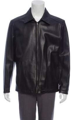 Barneys New York Barney's New York Lightweight Leather Jacket