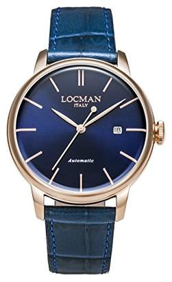Locman (ロックマン) - [ロックマン]LOCMAN 腕時計 1960 Automatic 0255R02R-RRBLRGPB 【正規輸入品】